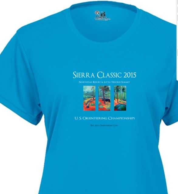 Ladies' T-shirt for 2015 Sierra Classic A-meet