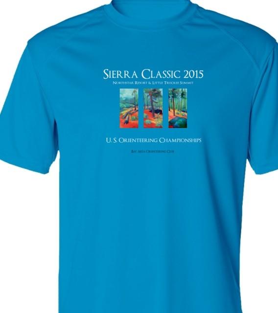 Men's T-shirt for 2015 Sierra Classic A-meet