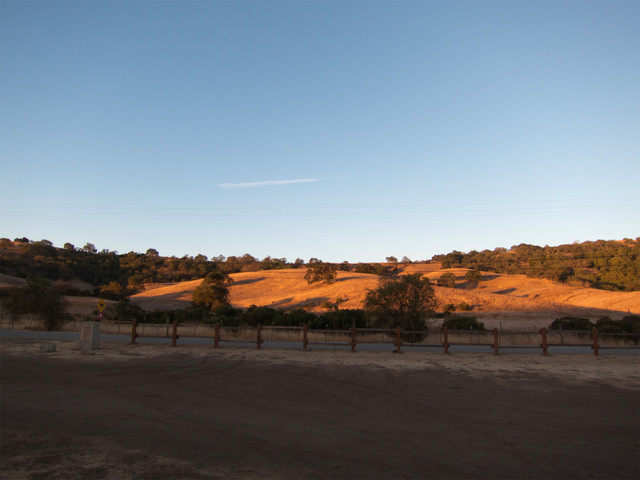 View from assembly area at Calero Park