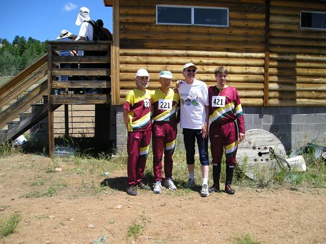 BAOC Relay Team