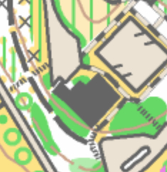 """Snippet of Old """"ISOM"""" Map"""