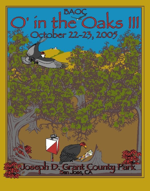 O In The Oaks 2005 T-Shirt Design