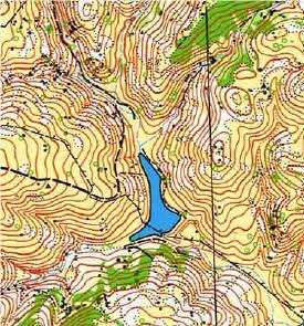 Pacheco State Park map segment