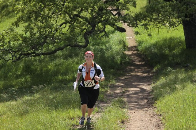 Pacheco State Park trail runner