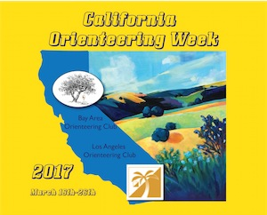 2017 California Orienteering Week (COW)