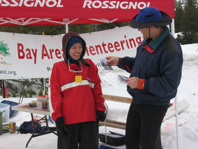 Julie Wong became the women's yellow course Sierra Ski-O Champion for 2005.