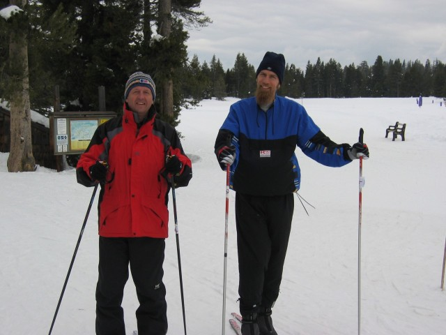 Kent Ohlund and Bjorn Widerstrom at Bear Valley