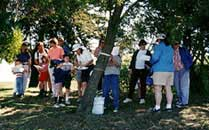 Folks gather at 1997 Shoreline Egg-O