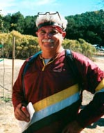 Gerry Goss at Briones, October 2001 (Photo: Judy Koehler)