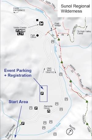 Sunol Location Map