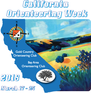 2018 California Orienteering Week (COW)