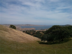 Pacheco State Park reservoir